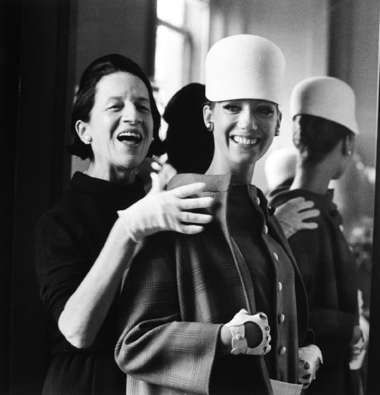 Diana Vreeland in a still from The Eye Has to Travel